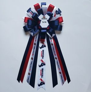 Accessories - The Houston Texans baby shower corsage/mom corsage